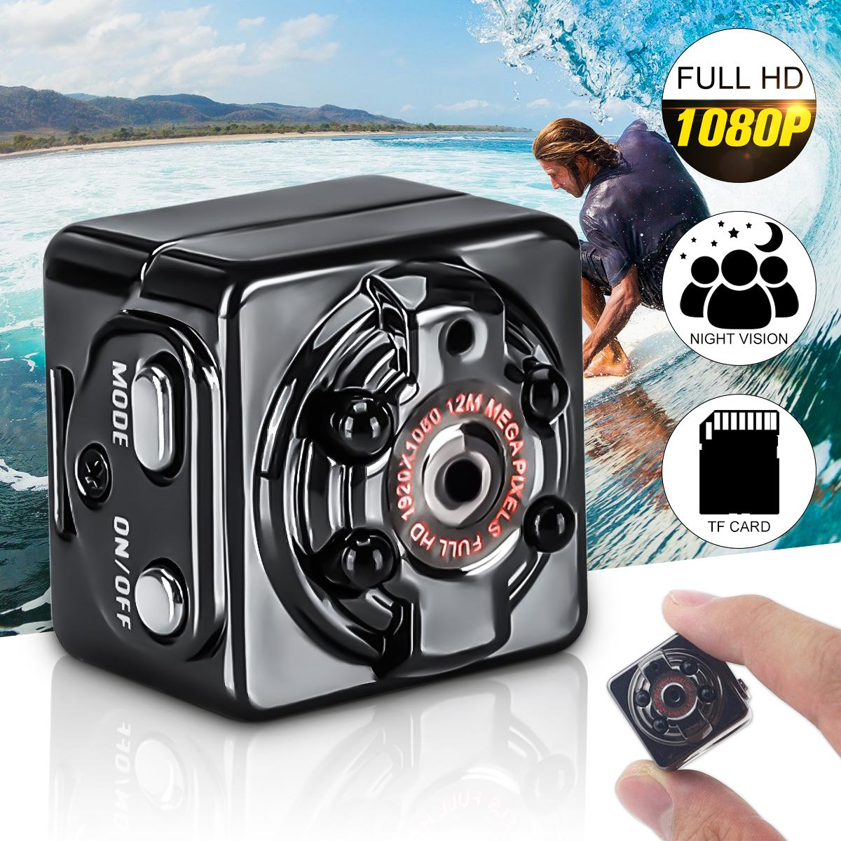 FHD 1080P/720P Mini Camcorder SQ8 Micro DV Sports Action Camera Car DVR Video Recorder Clip IR TF