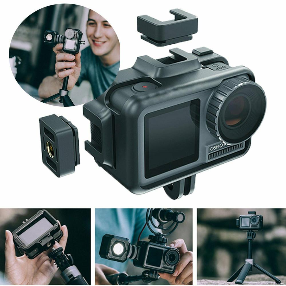 PGY Cage Protective Housing Frame Universal Interface Case For DJI Osmo Action