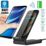 10W QI Fast Charger Wireless Charger Charging Stand for Samsung Hauwei Xiaomi