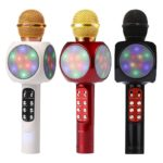 WS1816 Bluetooth Noise Reduction Capacitive Microphone Mic with Flash Light
