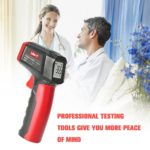 PHL Non-contact Digital Infrared Thermometer Temperature Gun Adjustable Emissivity IR Thermometer