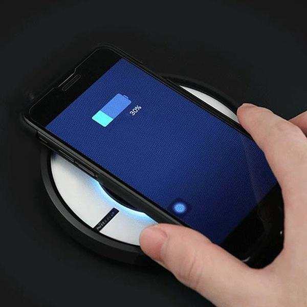 Fast Charger for iPhone 8 Wireless Charging Pad for Samsung Note 8 Magic Dish 4 Generation