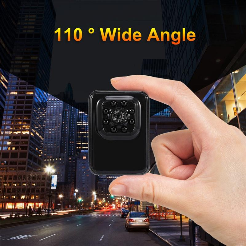 Portable Mini Infrared Light Action Camera Sports DV 12MP 1080P HD Cube with Mounts