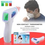 Joliann-Touch-Free Digital LCD Forehead Thermometer Measurement For Body & Obeject