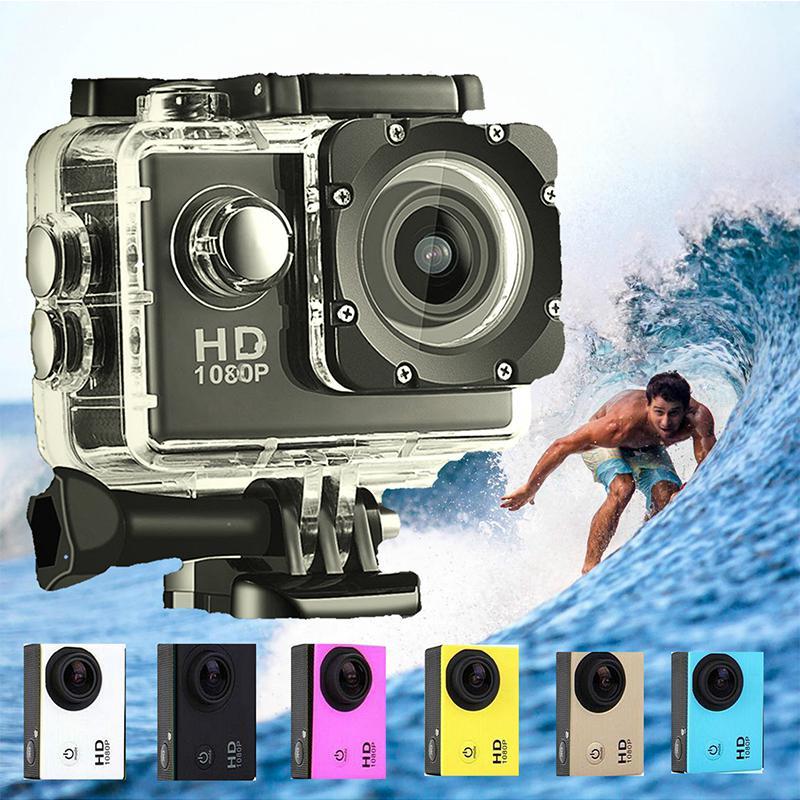 CUTE HD Wifi Waterproof Sport Camera Mini Helmet Cam Recorder Diving 2.0